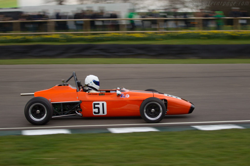 March 703 Ford  - Driver: Robert Thorpe  - 2018 Goodwood Members' Meeting