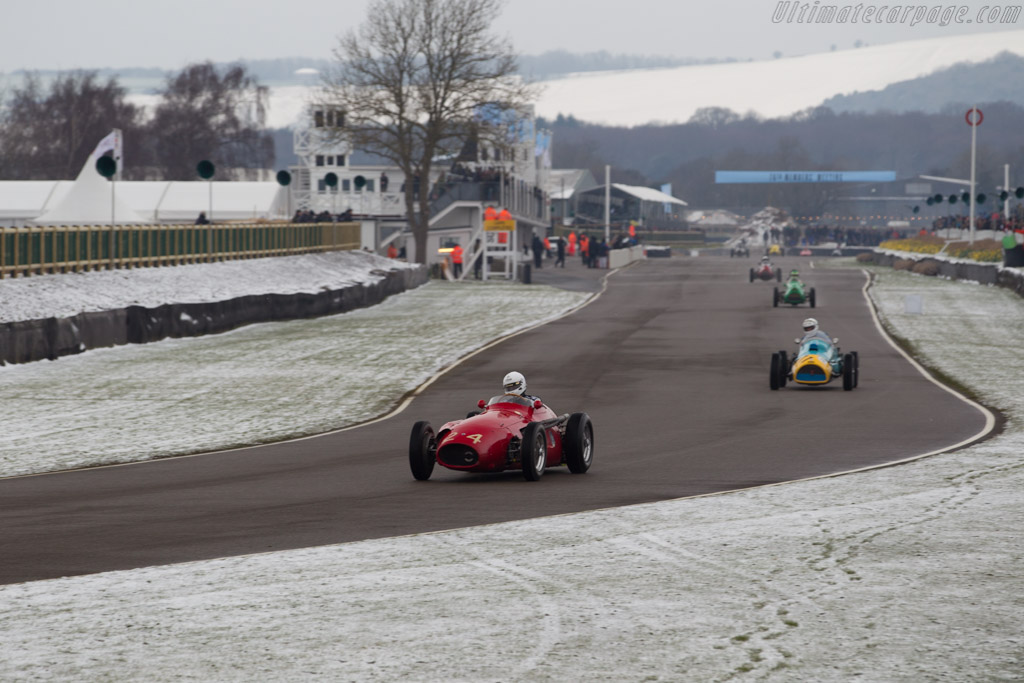 Maserati 250F  - Entrant: Niall Dyer - Driver: Edward Williams  - 2018 Goodwood Members' Meeting