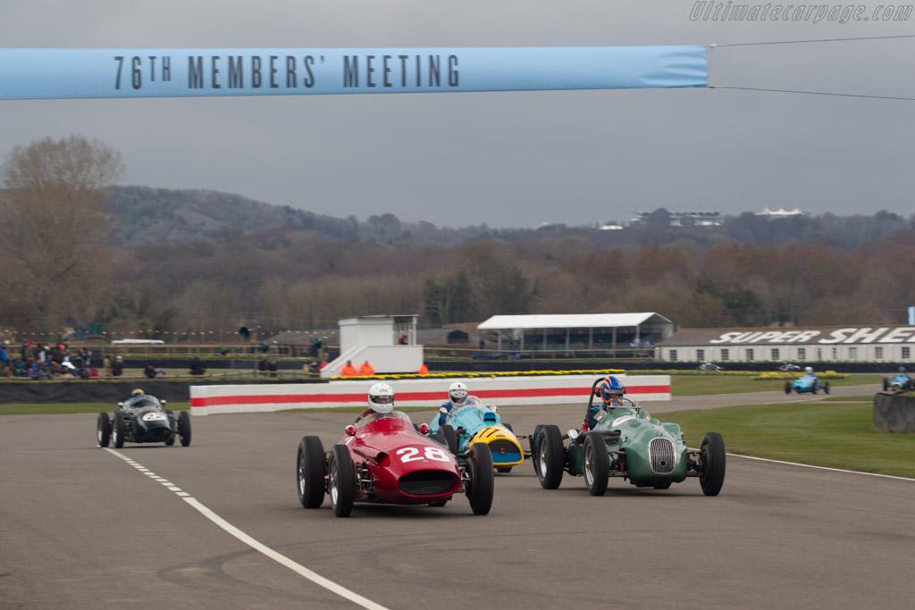 Maserati 250F  - Driver: Graham Adelman  - 2018 Goodwood Members' Meeting