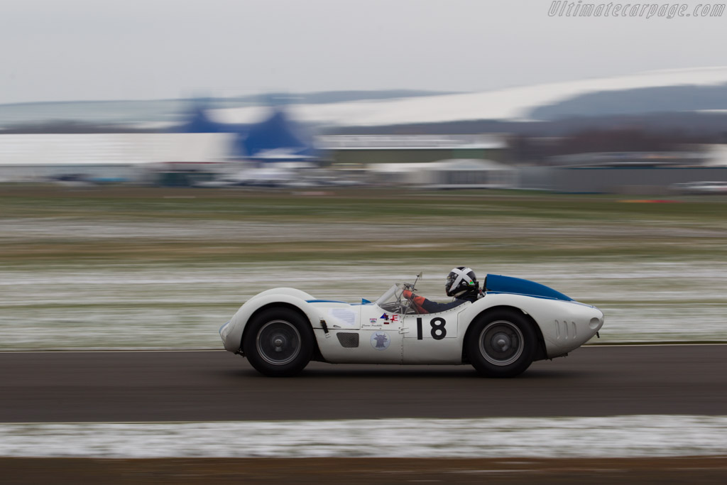 Maserati T61 Birdcage - Chassis: 2457 - Entrant: Nick Mason - Driver: Marino Franchitti  - 2018 Goodwood Members' Meeting
