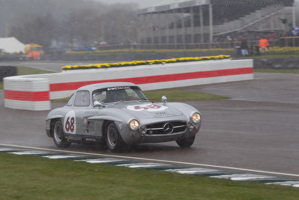 Mercedes-Benz 300 SL Gullwing  - Entrant: IWC Racing Team - Driver: David Coulthard  - 2018 Goodwood Members' Meeting