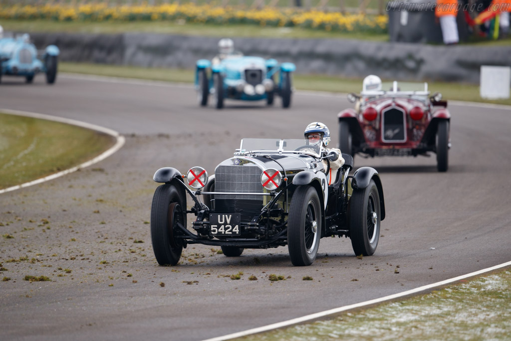 Mercedes-Benz 710 SSK  - Entrant: Jean-Marc Castelein - Driver: Jochen Mass  - 2018 Goodwood Members' Meeting