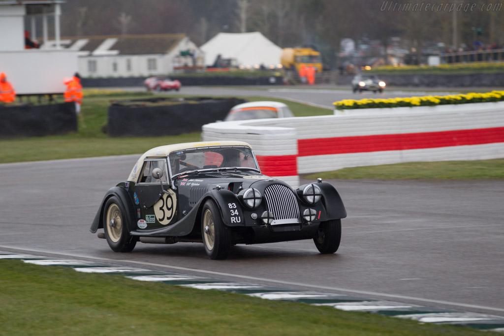 Morgan +4 SS - Chassis: 4866 - Entrant: John Emberson - Driver: John Emberson / Bill Wykeham  - 2018 Goodwood Members' Meeting