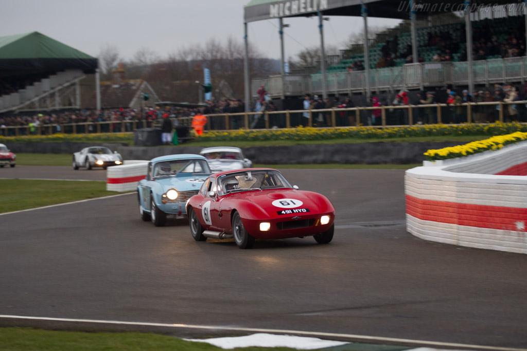 Morgan Plus 4 SLR - Chassis: SLR2 - Driver: Simon Orebi Gann  - 2018 Goodwood Members' Meeting