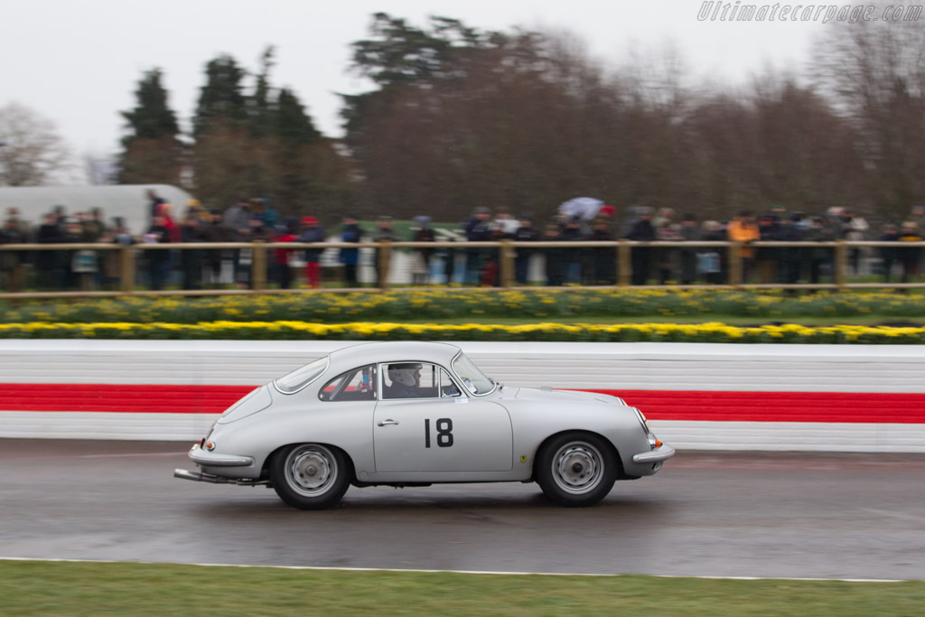 Porsche 356 Super 90  - Entrant: John Ruston - Driver: Gareth Burnett  - 2018 Goodwood Members' Meeting