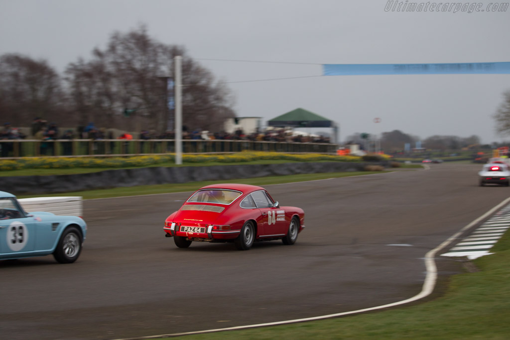 Porsche 901 - Chassis: 300147 - Entrant: Clay Owen - Driver: Lee Maxted-Page  - 2018 Goodwood Members' Meeting