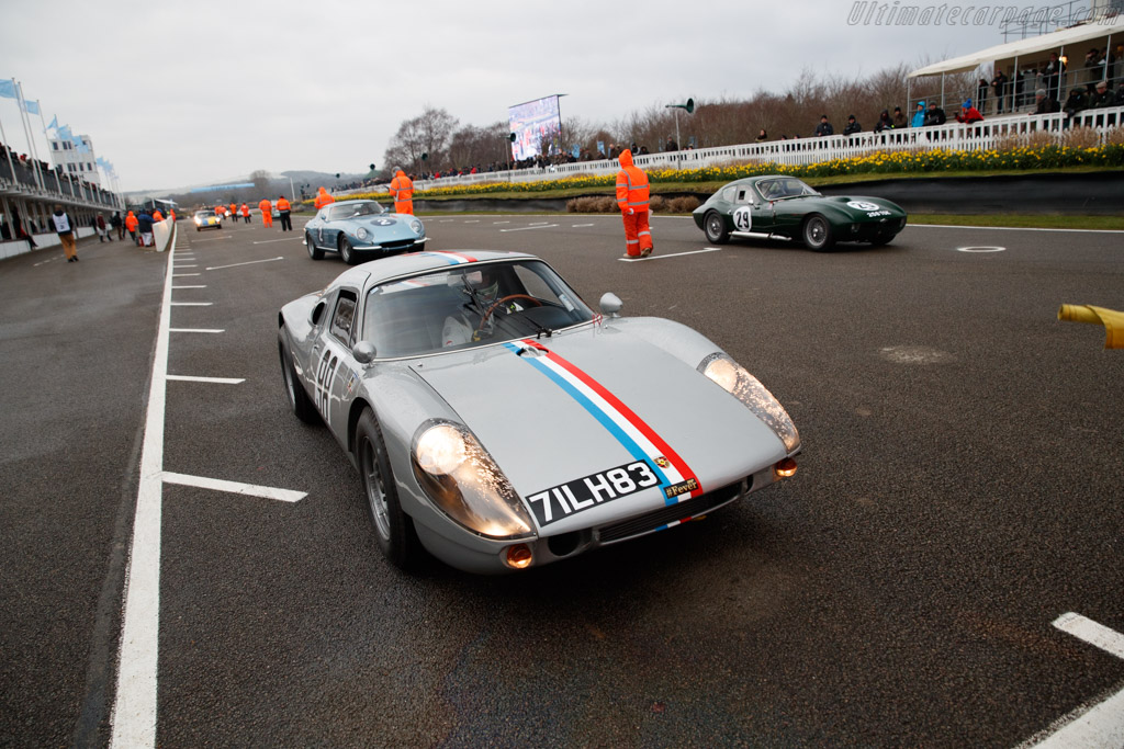 Porsche 904 Carrera GTS - Chassis: 904-083 - Entrant: Phil Hylander - Driver: James Cottingham  - 2018 Goodwood Members' Meeting