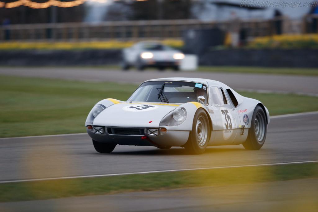 Porsche 904 Carrera GTS  - Driver: Rainer Becker  - 2018 Goodwood Members' Meeting