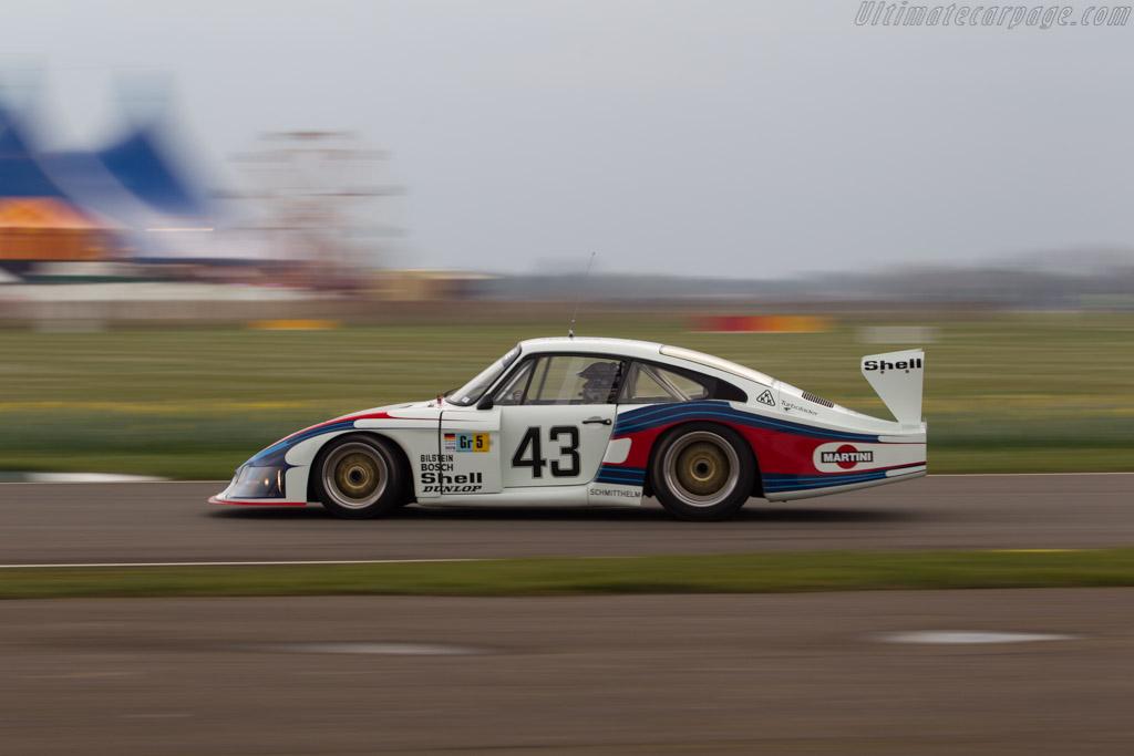 Porsche 935/78 Moby Dick - Chassis: 935-006 - Entrant: Porsche Museum - Driver: Jochen Mass  - 2018 Goodwood Members' Meeting