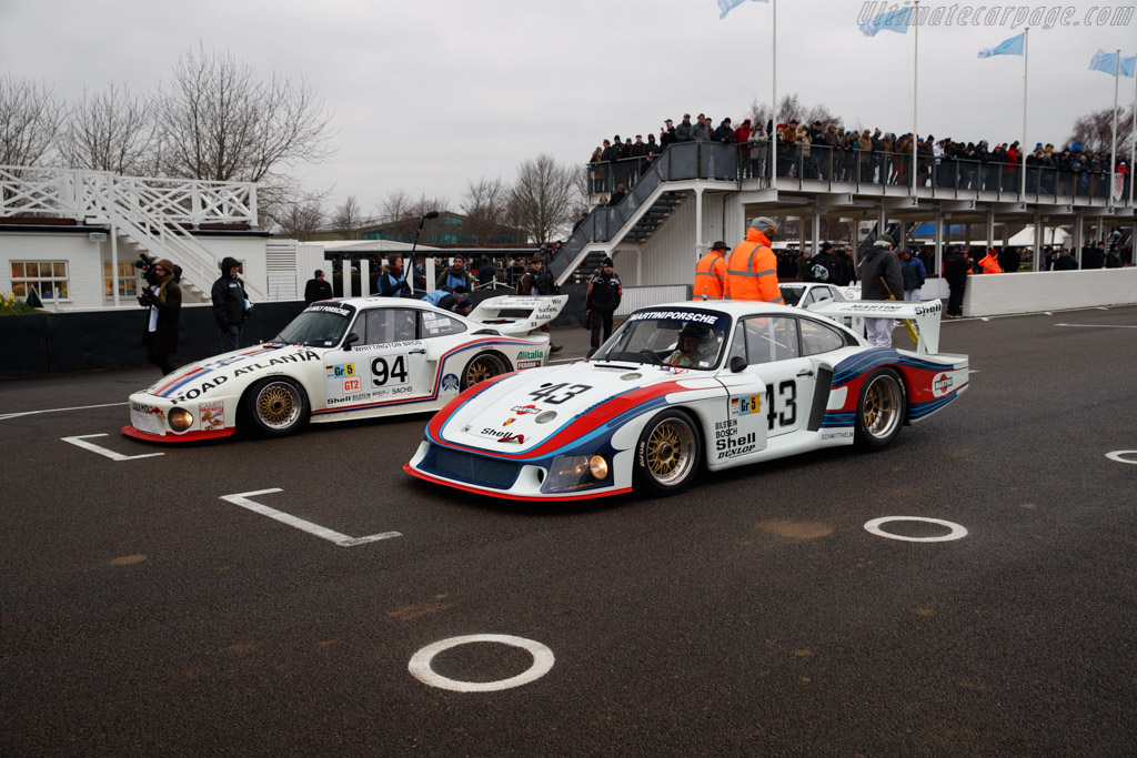 Porsche 935/78 Moby Dick - Chassis: 935-006 - Entrant: Porsche Museum  - 2018 Goodwood Members' Meeting