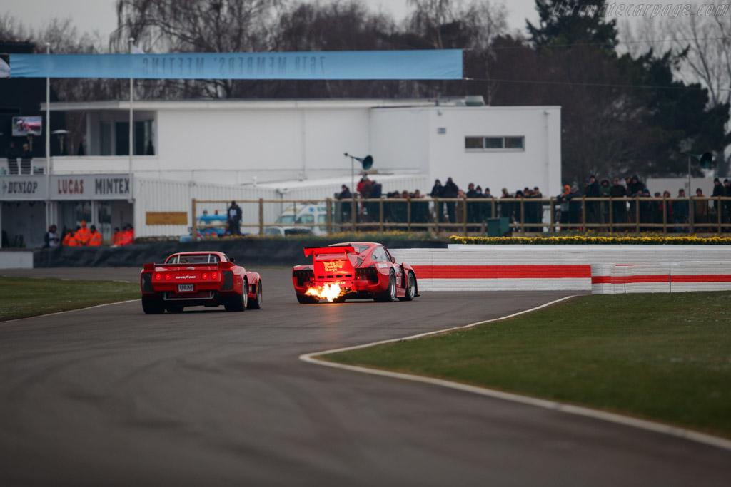 Porsche 935 K3 - Chassis: 009 00016 - Driver: Urs Beck  - 2018 Goodwood Members' Meeting