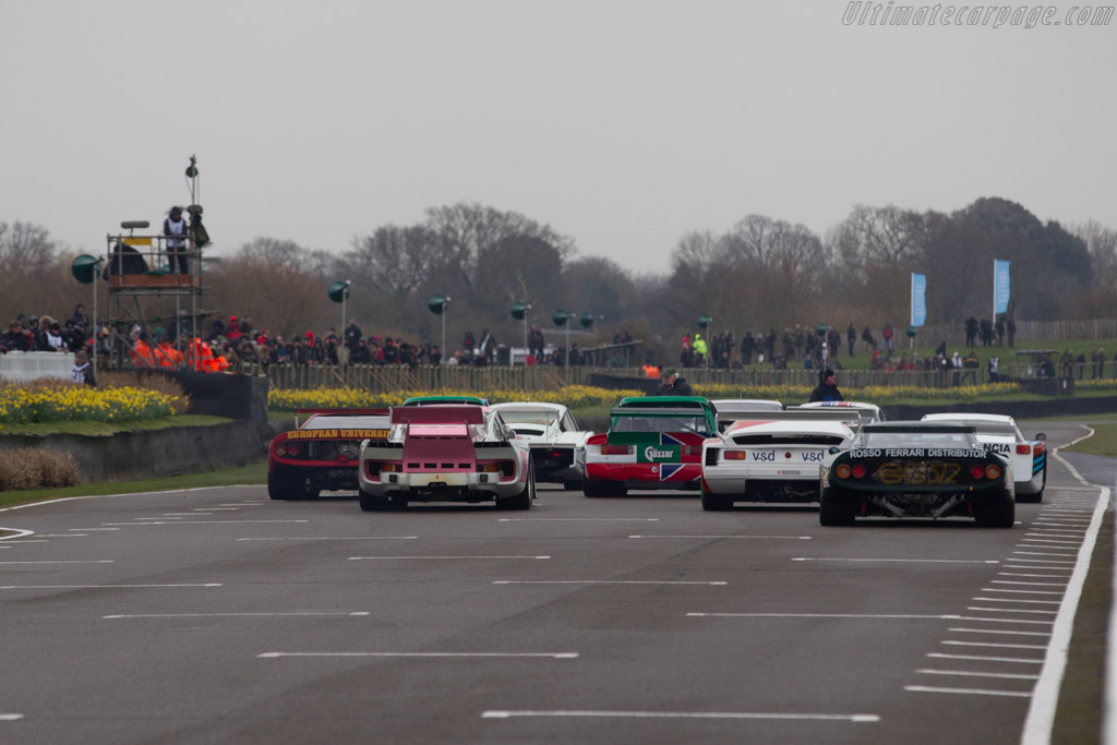 Porsche 935 K3 - Chassis: 001 0020 - Entrant: Nicolas d'Ieteren - Driver: Raphaël de Borman  - 2018 Goodwood Members' Meeting