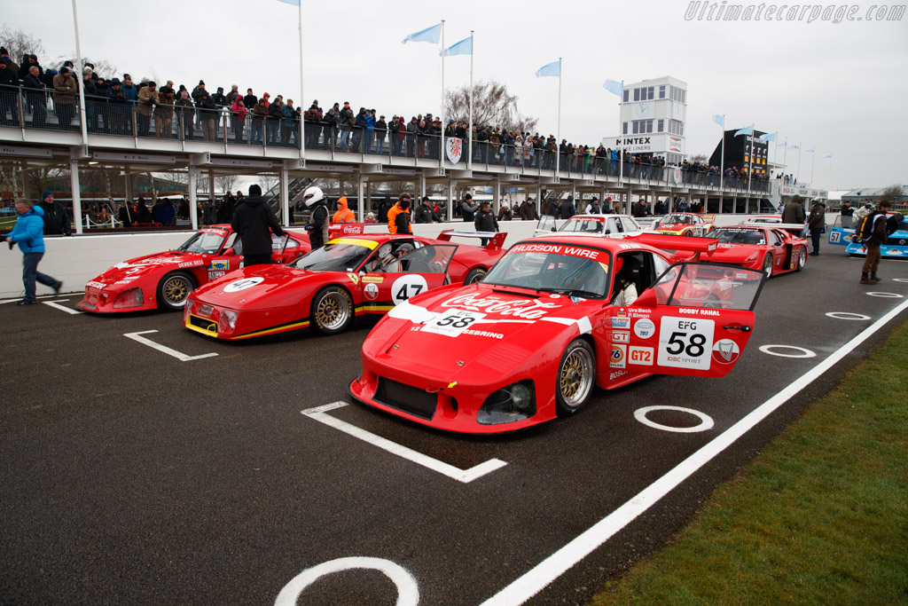 Porsche 935 K3 - Chassis: 009 00016 - Entrant: Urs Beck  - 2018 Goodwood Members' Meeting