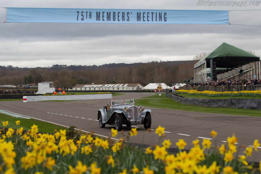 AC 16/80  - Driver: Charles Lord March  - 2017 Goodwood Members' Meeting