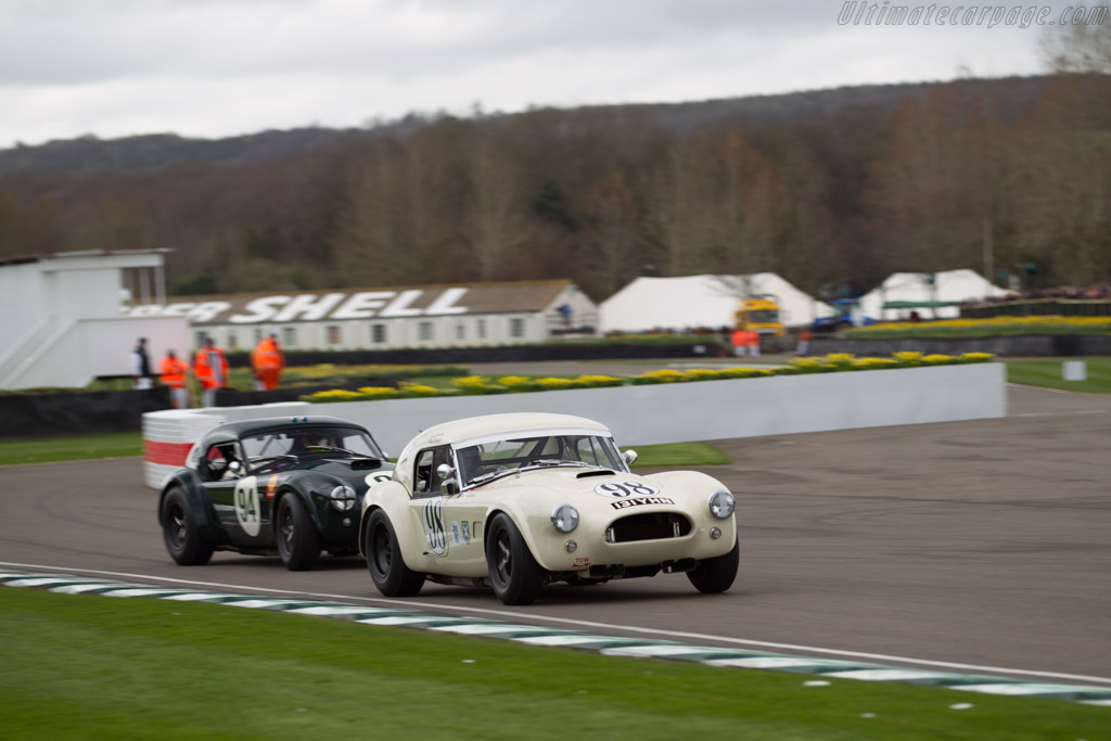 AC Shelby Cobra - Chassis: COB6008 - Entrant: Tim Summers - Driver: Max Girardo / Tim Summers  - 2017 Goodwood Members' Meeting