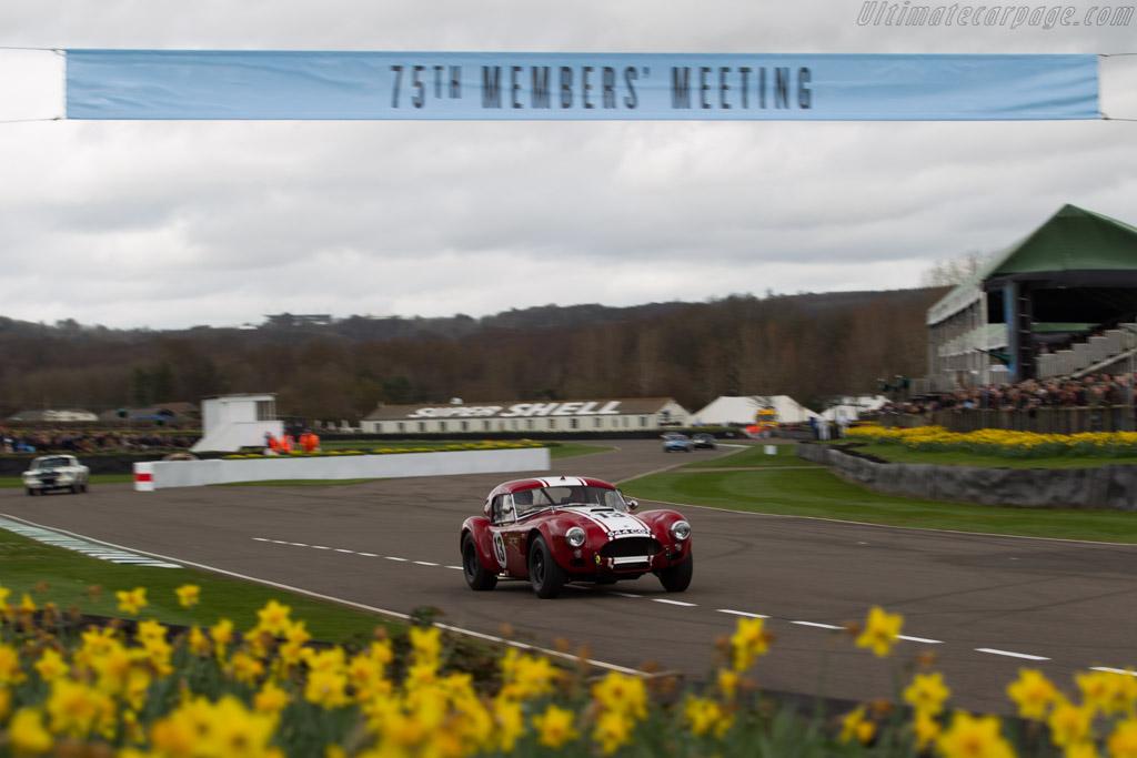 AC Shelby Cobra Le Mans - Chassis: CSX2130 - Entrant: Shaun Lynn - Driver: Emmanuele Pirro / Shaun Lynn  - 2017 Goodwood Members' Meeting