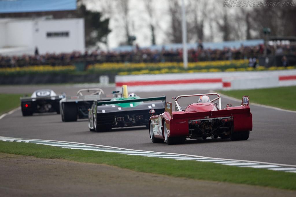 Alfa Rome 33/TT/3 - Chassis: 11572-010 - Entrant: Alexander Rittweger - Driver: Sam Hancock  - 2017 Goodwood Members' Meeting