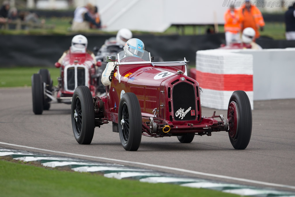 Alfa Romeo 8C 2300 Monza  - Entrant: Rupert Clevely - Driver: Neil Twyman  - 2017 Goodwood Members' Meeting