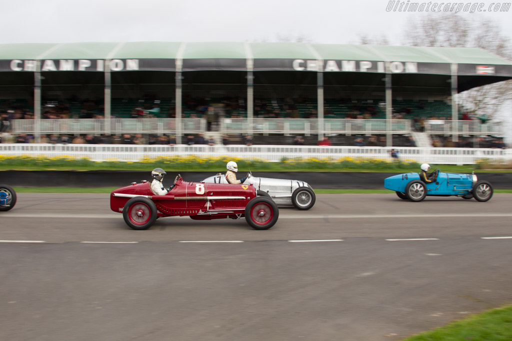 Alfa Romeo Tipo B - Chassis: 5006 - Driver: Christian Glaesel  - 2017 Goodwood Members' Meeting