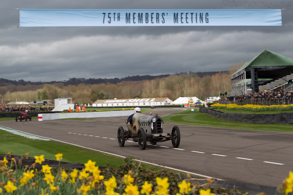 Austin Hall Scott  - Driver: Edward Way  - 2017 Goodwood Members' Meeting