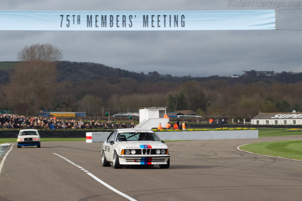 BMW 635 CSI - Chassis: E24 RA1-07 - Entrant: BMW Classic - Driver: Gerhard Berger  - 2017 Goodwood Members' Meeting