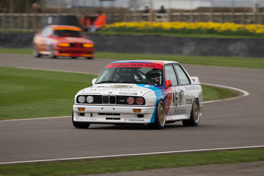 BMW M3 Group A - Chassis: 008L187 - Entrant: BMW Classic - Driver: Roberto Ravaglia  - 2017 Goodwood Members' Meeting