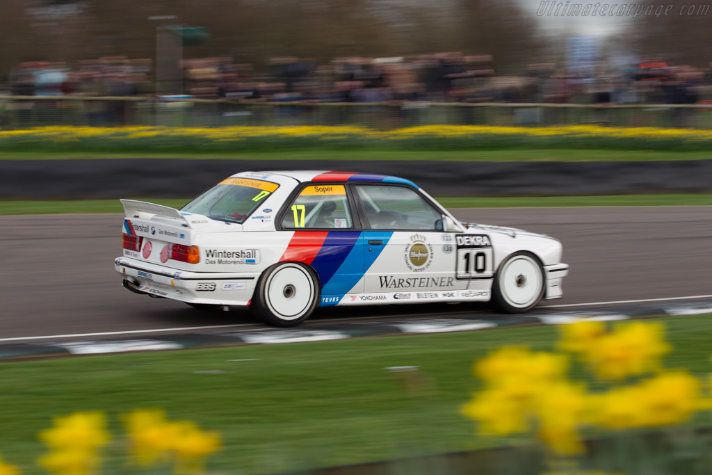 BMW M3 Group A - Chassis: 008L187 - Driver: Emanuele Pirro  - 2017 Goodwood Members' Meeting