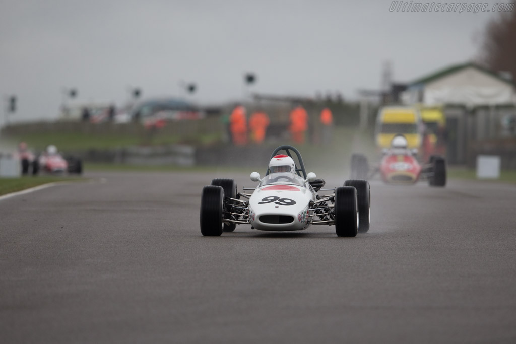 Brabham BT21  - Entrant: Michael Pascall - Driver: Mike Pascall  - 2017 Goodwood Members' Meeting
