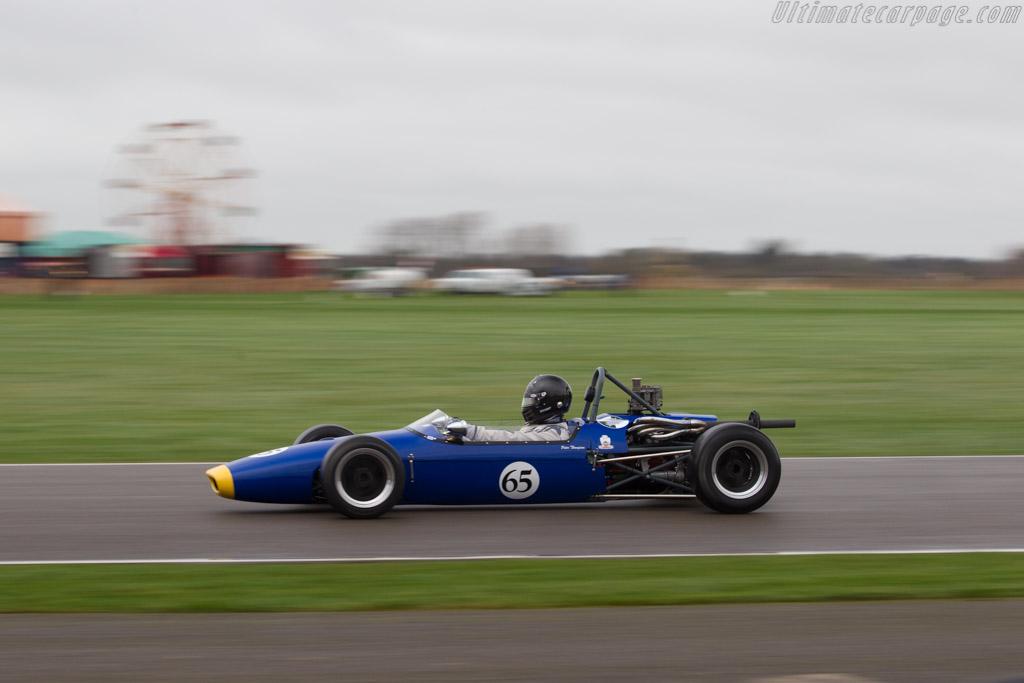 Brabham BT21A  - Driver: Peter Thompson  - 2017 Goodwood Members' Meeting