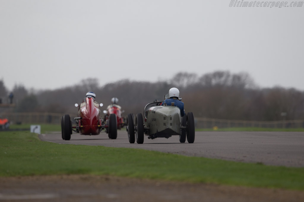 Bugatti Type 35B  - Driver: Chris Hudson  - 2017 Goodwood Members' Meeting