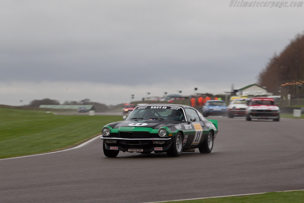 Chevrolet Camaro Z28  - Entrant: Nigel Garrett - Driver: Stuart Graham / Nigel Garrett  - 2017 Goodwood Members' Meeting
