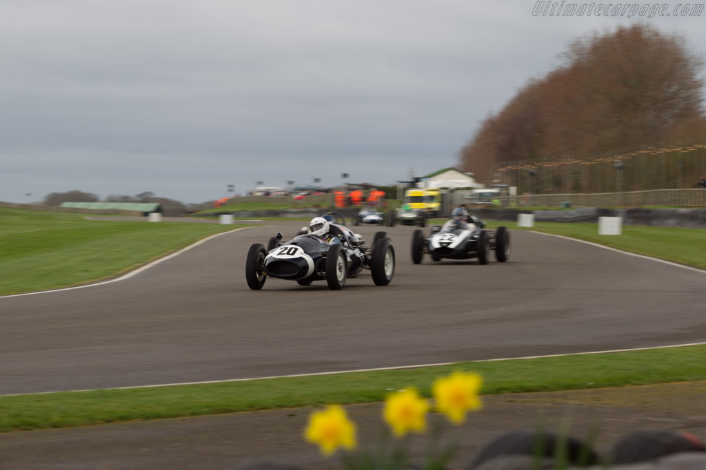 Cooper T45 - Chassis: F2-7-58 - Entrant: Christopher Lunn - Driver: Gareth Burnett  - 2017 Goodwood Members' Meeting