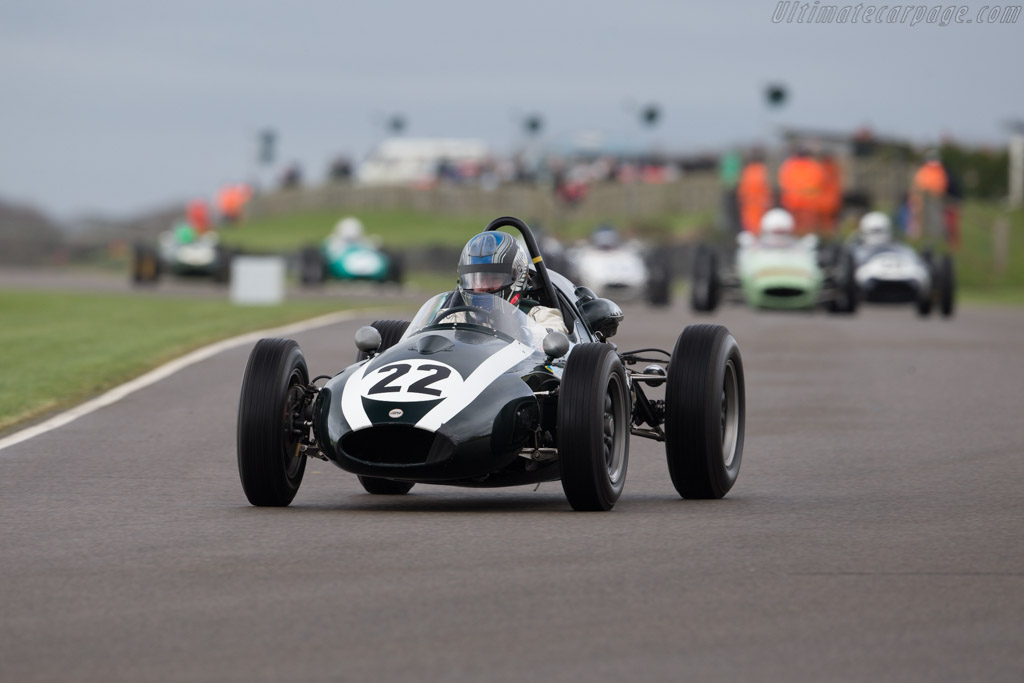 Cooper T51 - Chassis: F2-23-59 - Driver: Roger Wills  - 2017 Goodwood Members' Meeting