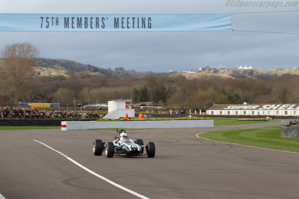 Cooper T76 - Chassis: F3-15-65 - Driver: Mauro Poponcini  - 2017 Goodwood Members' Meeting