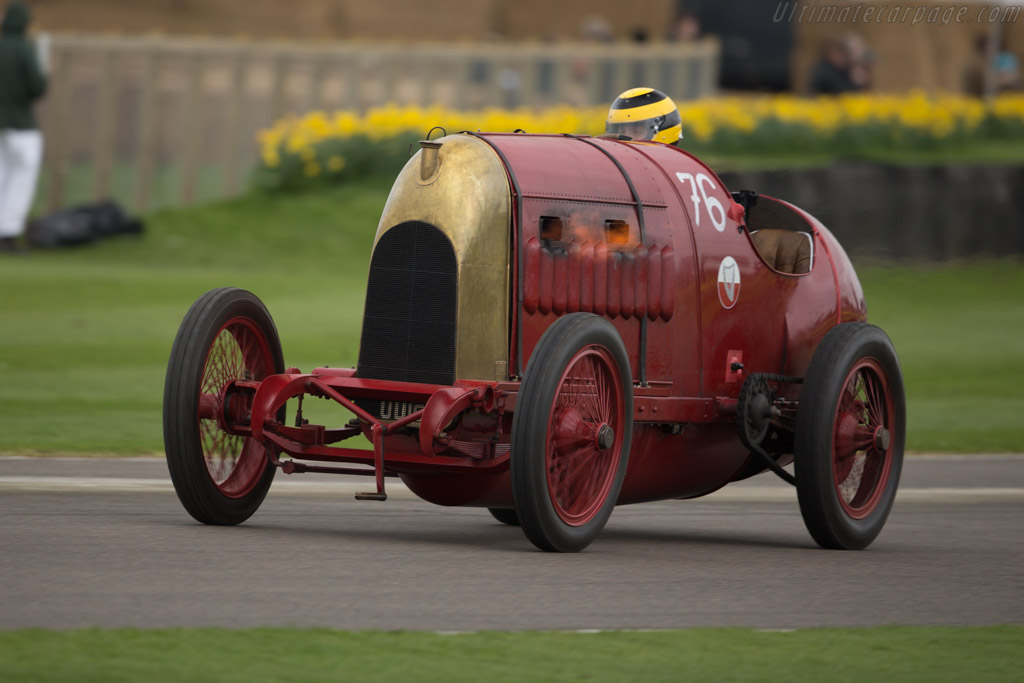 Fiat S.76 - Chassis: 1 - Driver: Duncan Pittaway  - 2017 Goodwood Members' Meeting