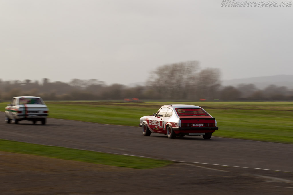 Ford Capri MkIII  - Driver: Raphaël de Borman  - 2017 Goodwood Members' Meeting
