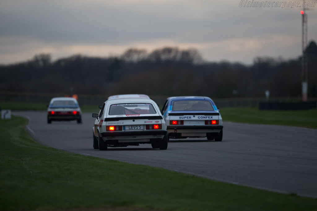 Ford Capri MkIII  - Entrant: Patrick Watts - Driver: Andy Priaulx / Patrick Watts  - 2017 Goodwood Members' Meeting