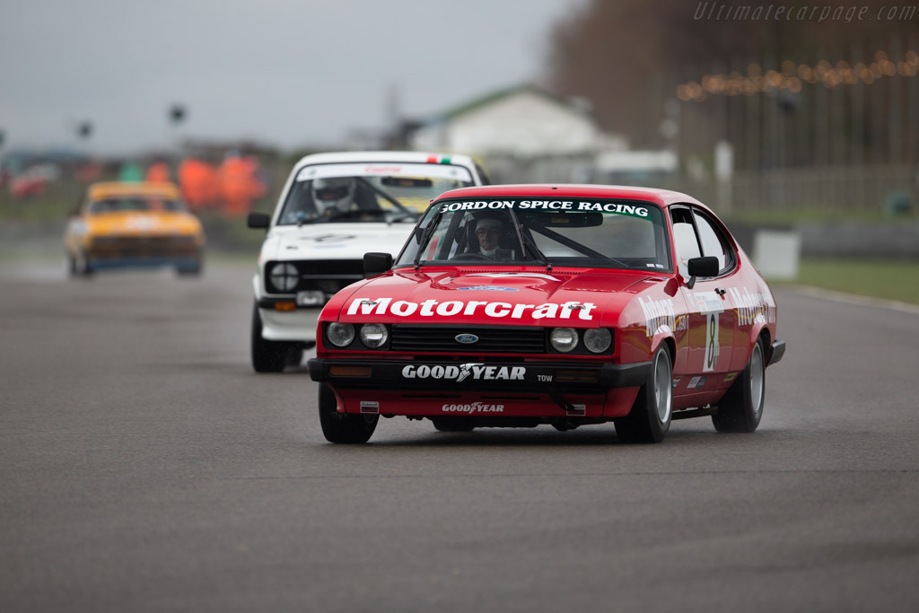 Ford Capri MkIII  - Entrant: Mike Whitaker - Driver: Mike Jordan / Mike Whitaker  - 2017 Goodwood Members' Meeting