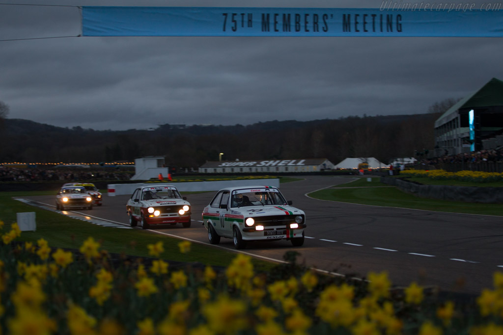 Ford Escort RS2000  - Entrant: Michael Kerry - Driver: Mark Blundell / Michael Kerry  - 2017 Goodwood Members' Meeting