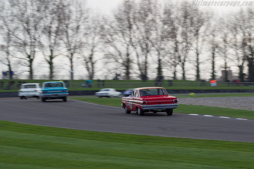 Ford Falcon Sprint  - Driver: Leo Voyazides  - 2017 Goodwood Members' Meeting