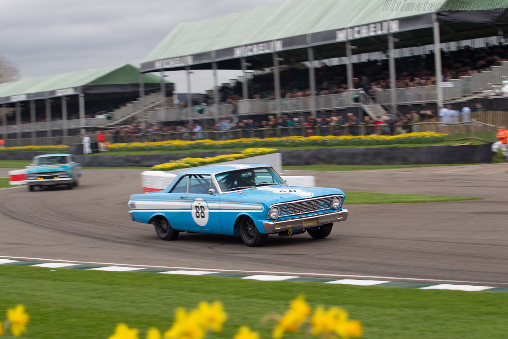 Ford Falcon Sprint  - Entrant: Martin Melling - Driver: Rob Hall  - 2017 Goodwood Members' Meeting
