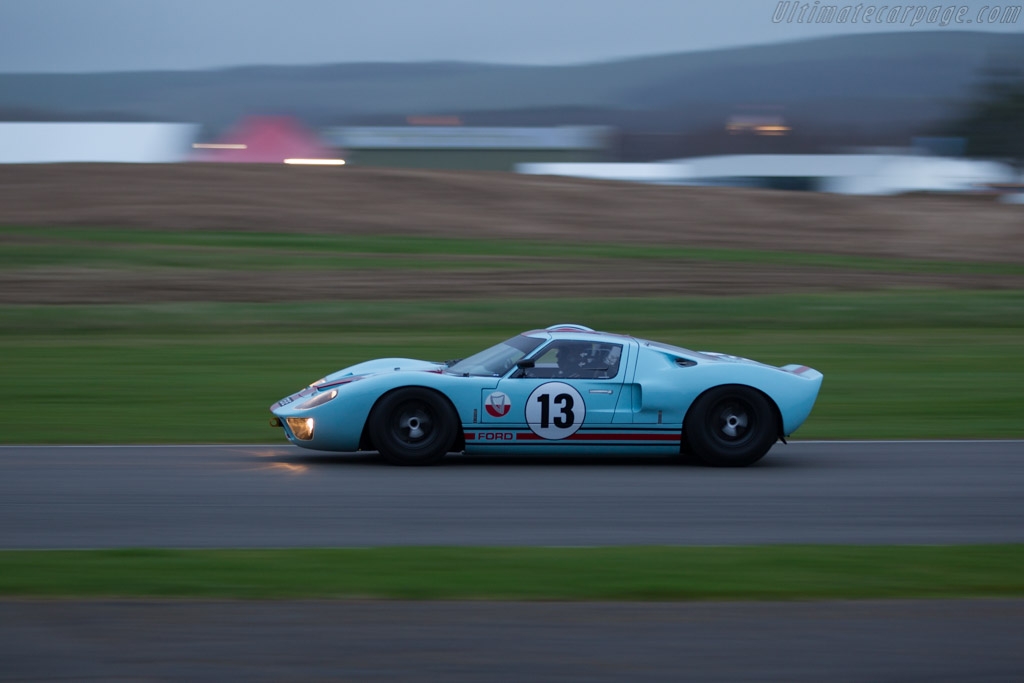 Ford Gt40 Chassis Gt40p 1025 Driver Shaun Lynn
