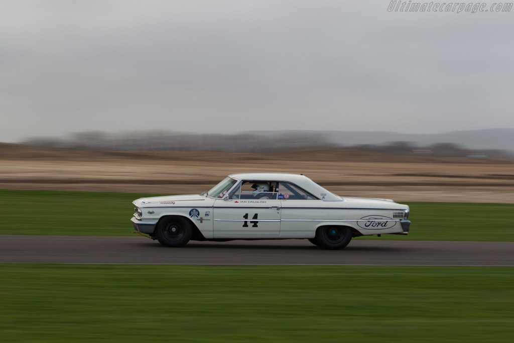 Ford Galaxie 500  - Driver: Ian Dalglish  - 2017 Goodwood Members' Meeting