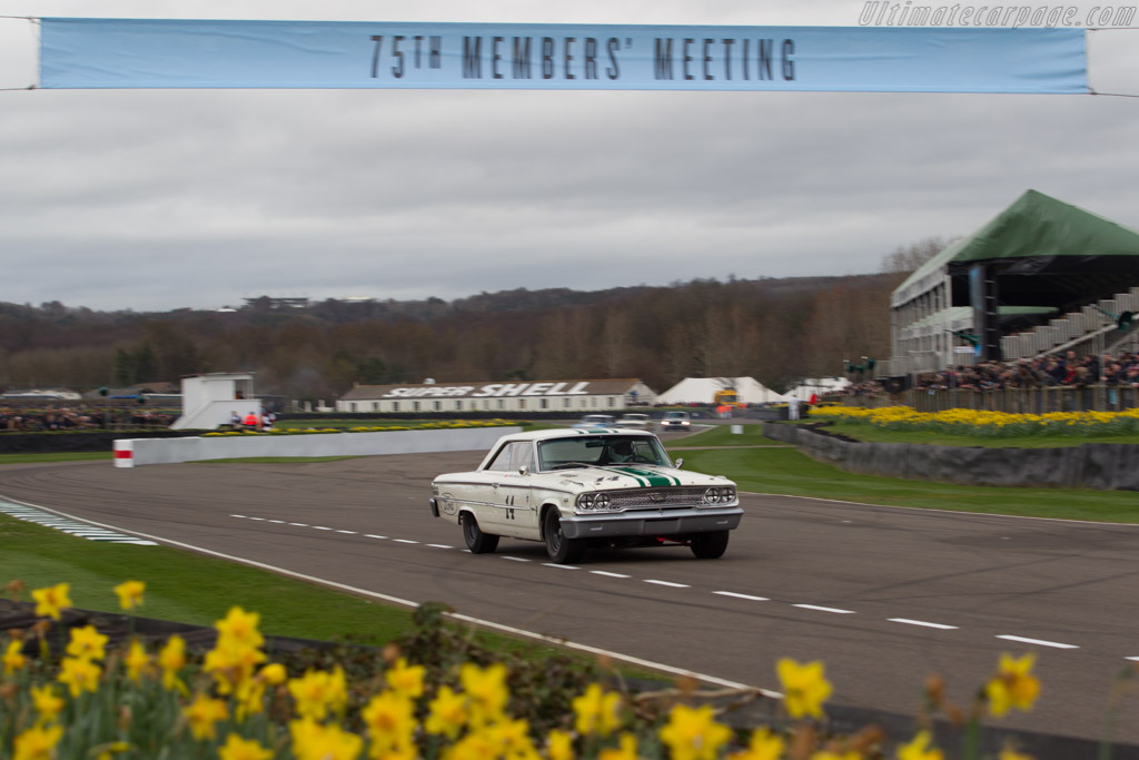 Ford Galaxie 500  - Driver: Ian Dalglish  - 2017 Goodwood Members' Meeting