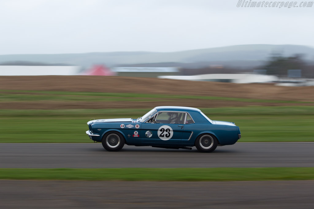 Ford Mustang  - Entrant: D.K. Engineering - Driver: James Cottingham  - 2017 Goodwood Members' Meeting