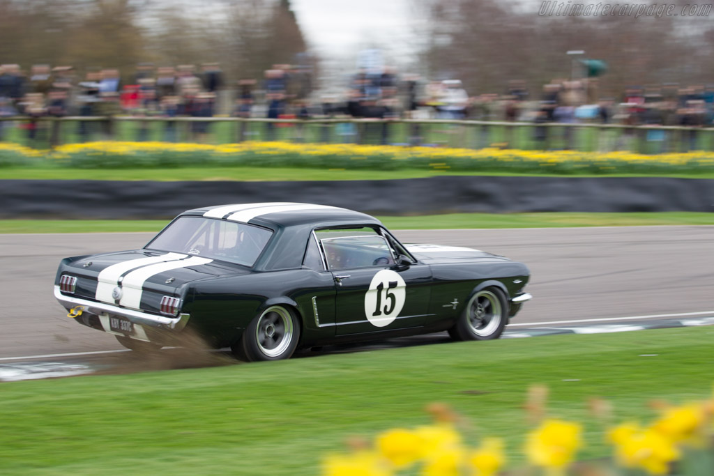 Ford Mustang - Chassis: 5R07C200346 - Entrant: Christian Dumolin - Driver: Christophe Van Riet  - 2017 Goodwood Members' Meeting
