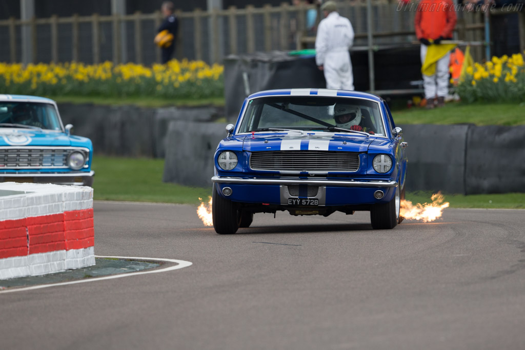 Ford Mustang  - Entrant: Richard Squire - Driver: Michael Squire  - 2017 Goodwood Members' Meeting