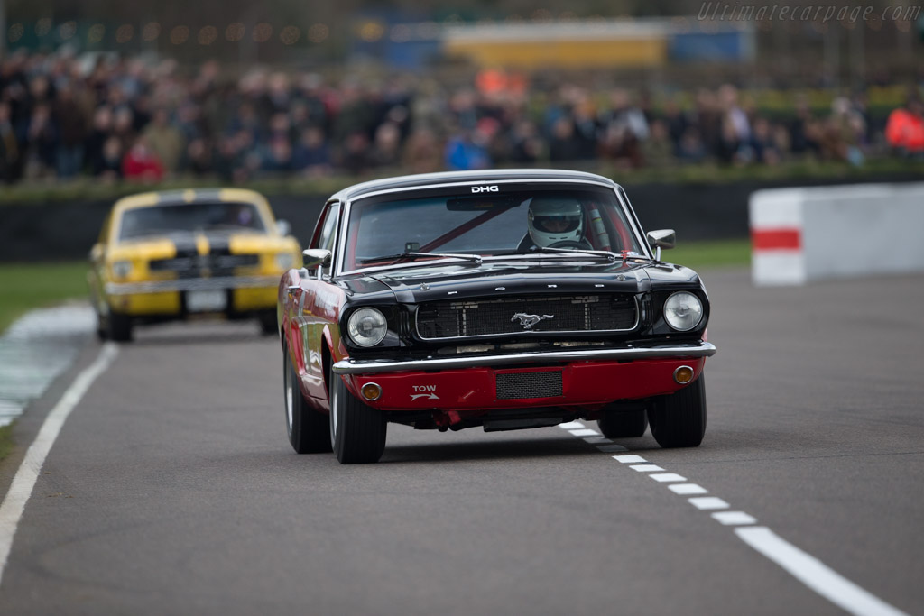 Ford Mustang  - Entrant: David Hart - Driver: Olivier Hart  - 2017 Goodwood Members' Meeting