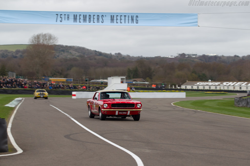 Ford Mustang  - Driver: Henry Mann  - 2017 Goodwood Members' Meeting
