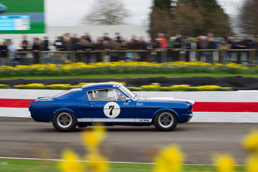 Ford Shelby Mustang GT350  - Entrant: Rupert Clevely - Driver: Simon Garrad / Rupert Clevely  - 2017 Goodwood Members' Meeting